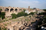 on top of Palatine Hill looking down